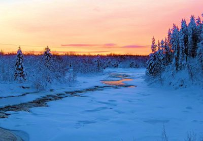The sun will no longer go over the horizon in Northern Finland