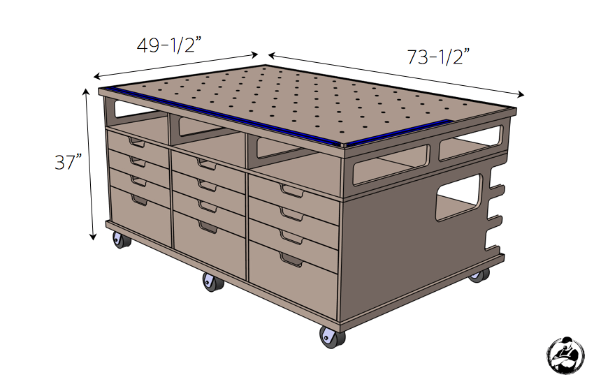 Ultimate Workstation   Workbench plans diy, Woodworking ...