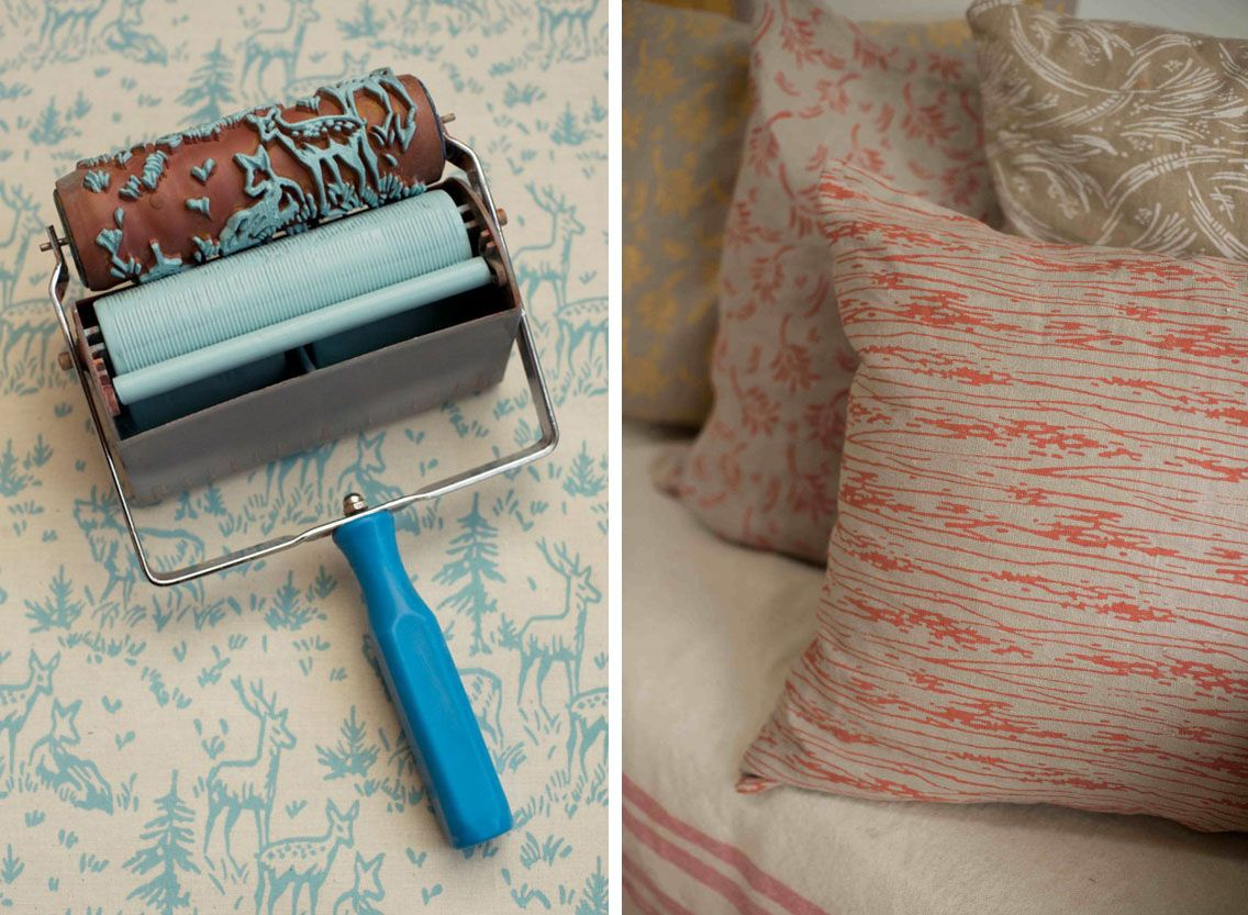 Grosgrain Paint Roller Faux Wallpaper This Is One To Bookmark