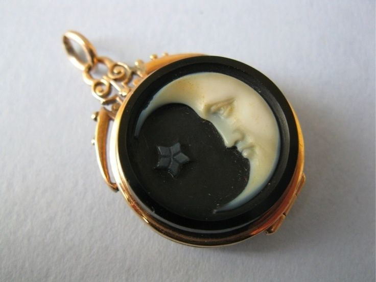 Antique victorian10k gold cameo man in the moon pendant oxford jewel antique victorian10k gold cameo man in the moon pendant oxford jewel dimagio aloadofball Images