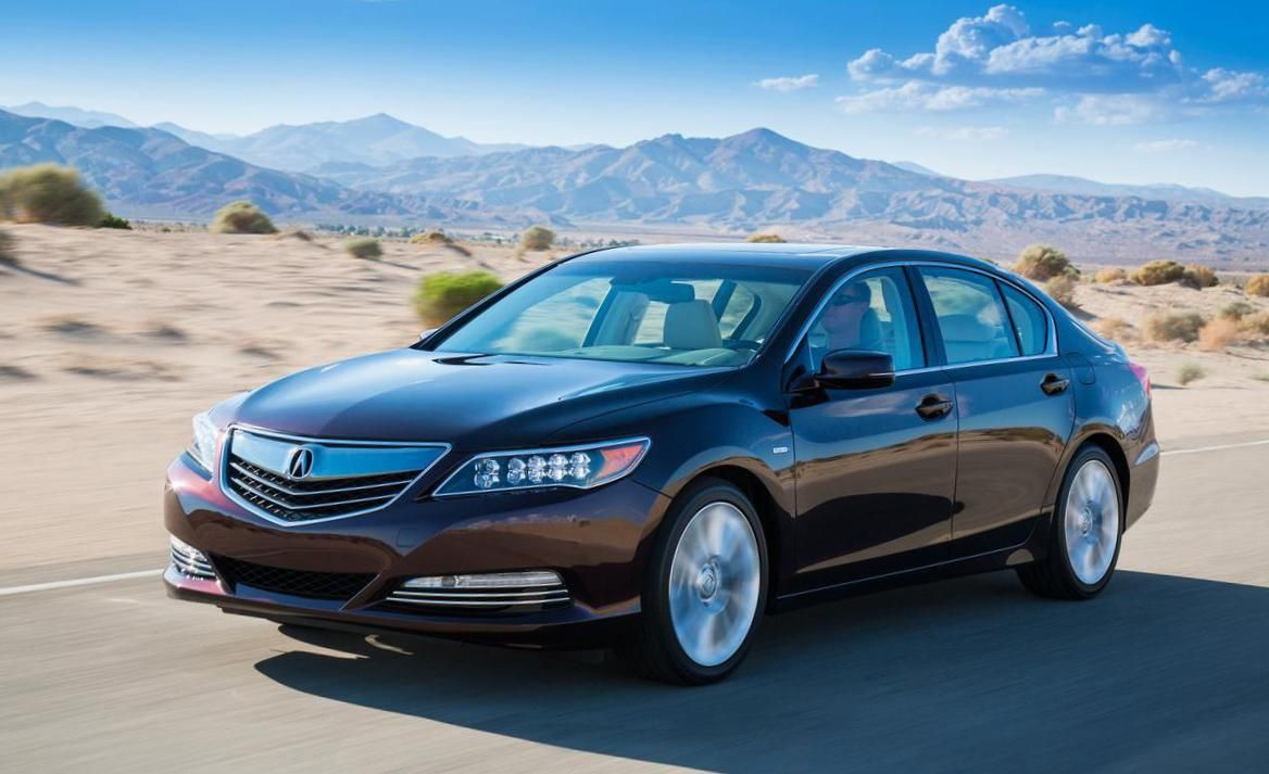 Acura RLX Sport Hybrid Photos and Specs. Photo Acura RLX