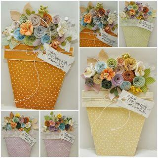 Gosiamachynia Scrapbooking Kwiaty Doniczkowe Dla Nauczycieli Gift Wrapping Gifts Wrap
