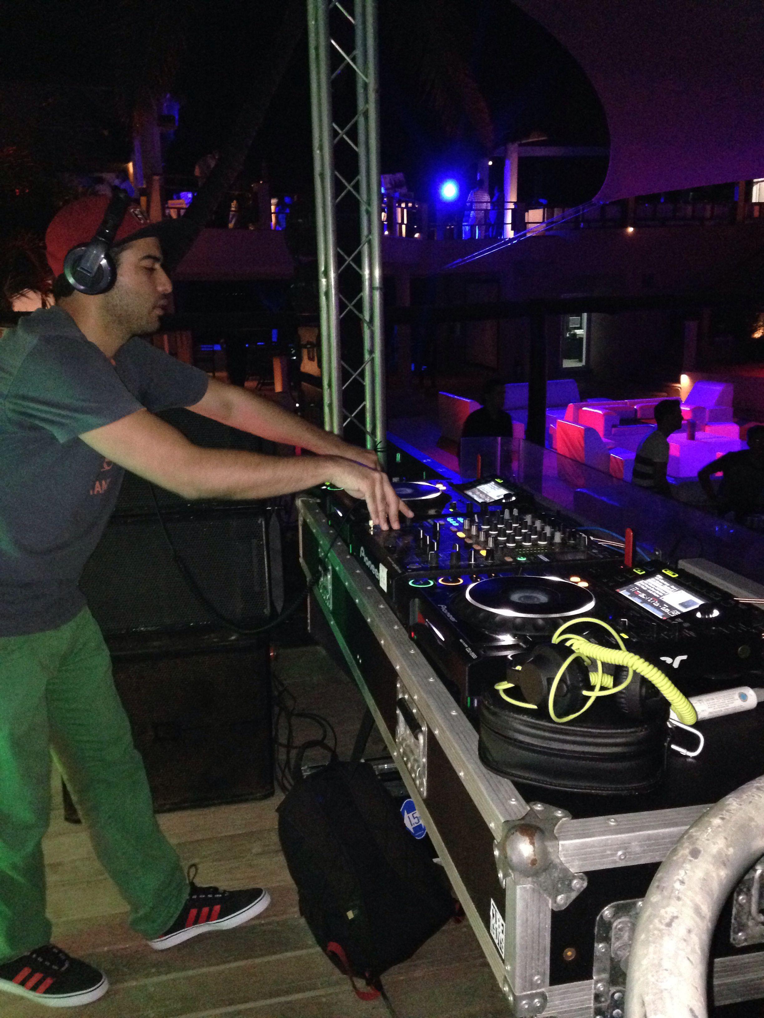 Playing at Coco Maya Playa del Carmen