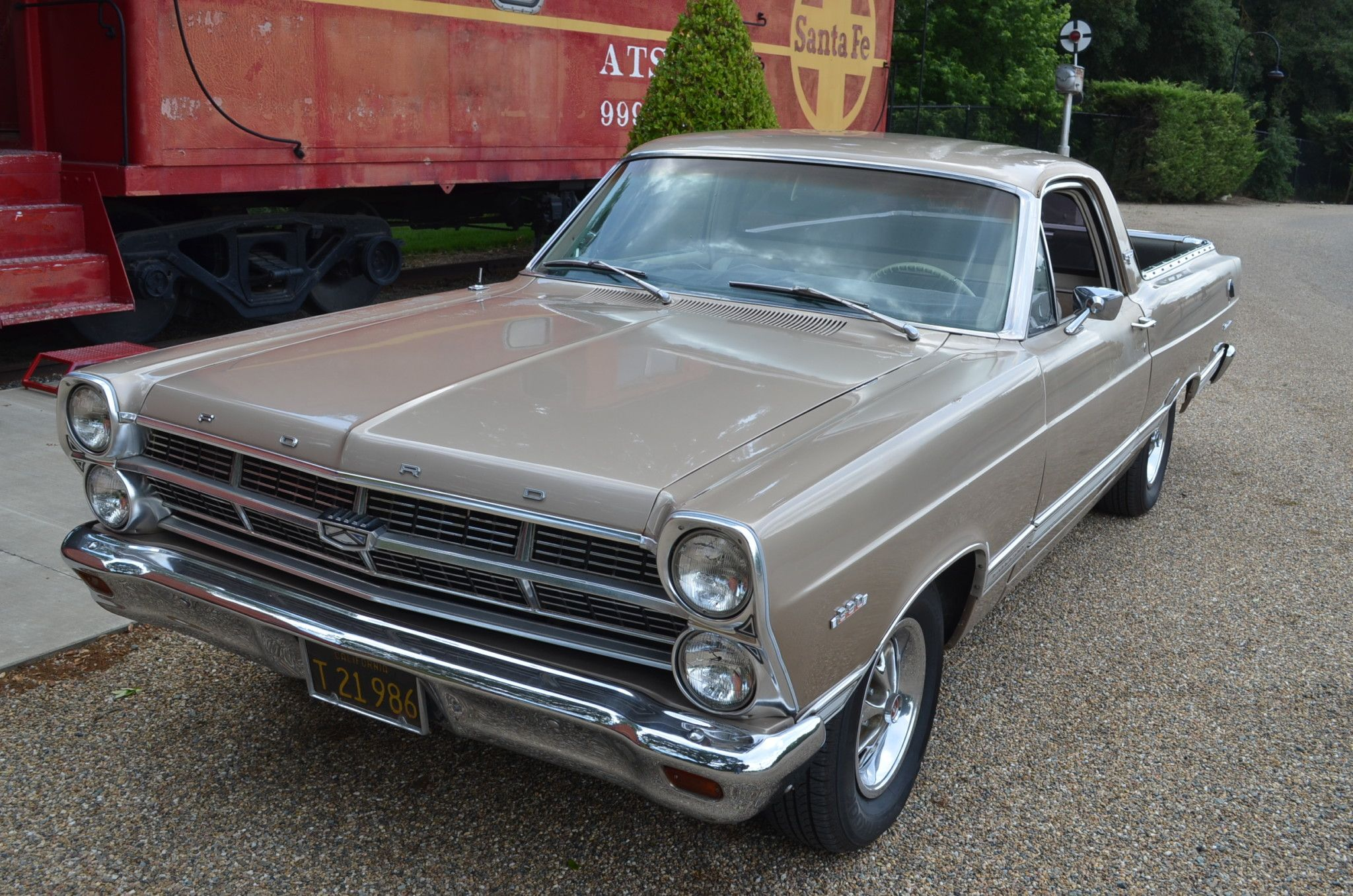 No Reserve 390Powered 1967 Ford Ranchero 500 in 2020