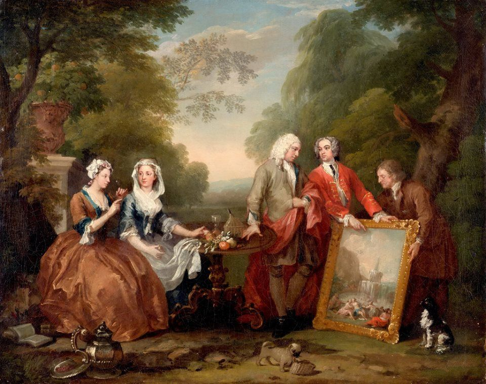 William Hogarth English 1697 1764 Conversation Piece