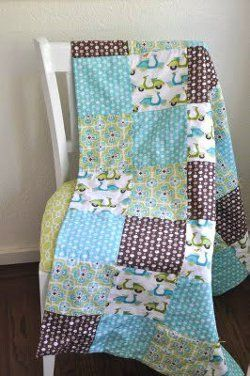 Effortless Tied Baby Quilt Keep the Kids Busy with 14 Easy ... : baby quilt pattern ideas - Adamdwight.com