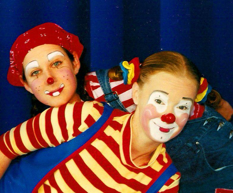 cute clown faces - 784×648