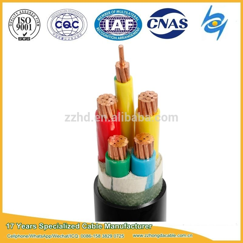 600 1000v Xlpe Insulated Kabel Elektrik With Iec 60502 1 Insulated Alibaba Manufacturing