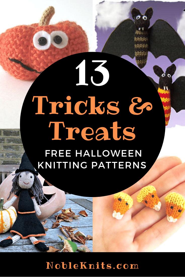 18 Halloween Treats Free Knitting Patterns  Halloween knitting