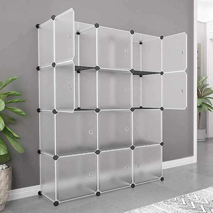 amazon  maginels portable storage shelf cube plastic
