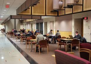 Figure 3 Torgersen Hall Study Court