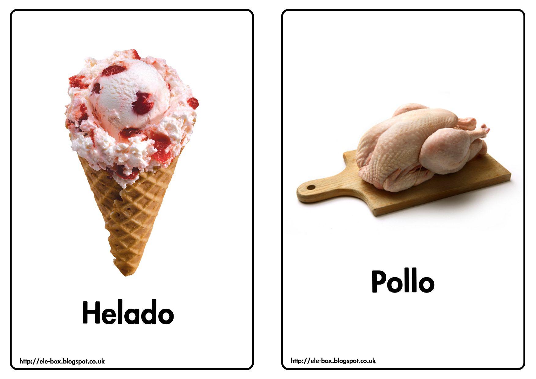 Helado Y Pollo
