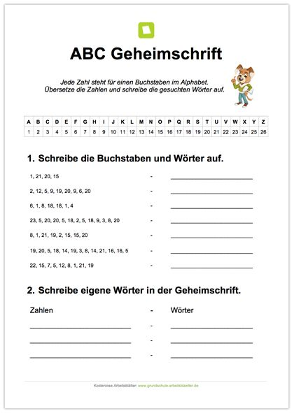 NEU: Deutsch - ABC: Die Kinder sollen das ABC mit Hilfe einer ...