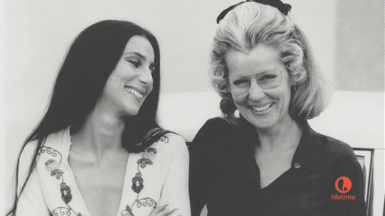 Cher And Her Mother Georgia Holt 1970s Famous Kids
