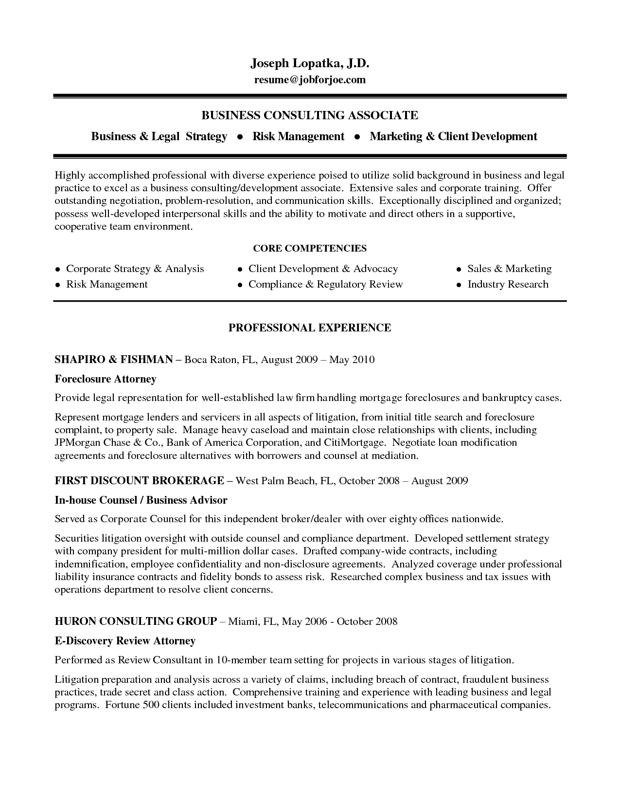 Sample Attorney Resume Corporate Law Resume Sample Attorney School Application Format