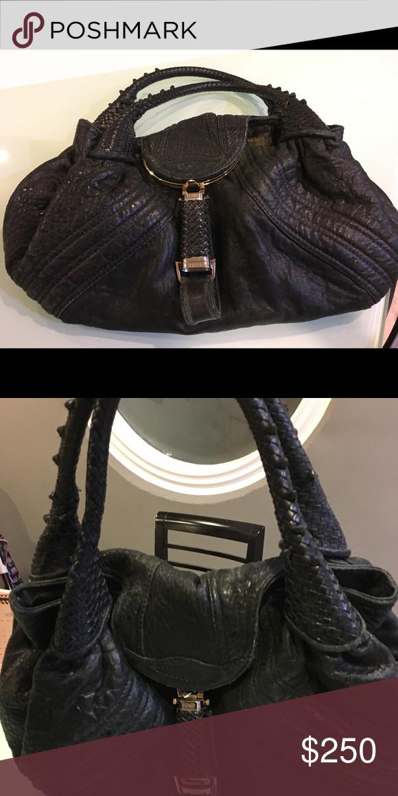 Authentic Fendi handbag - Used Used - very soft leather handbag FENDI Fendi  Bags Shoulder Bags fbc0b83de2782