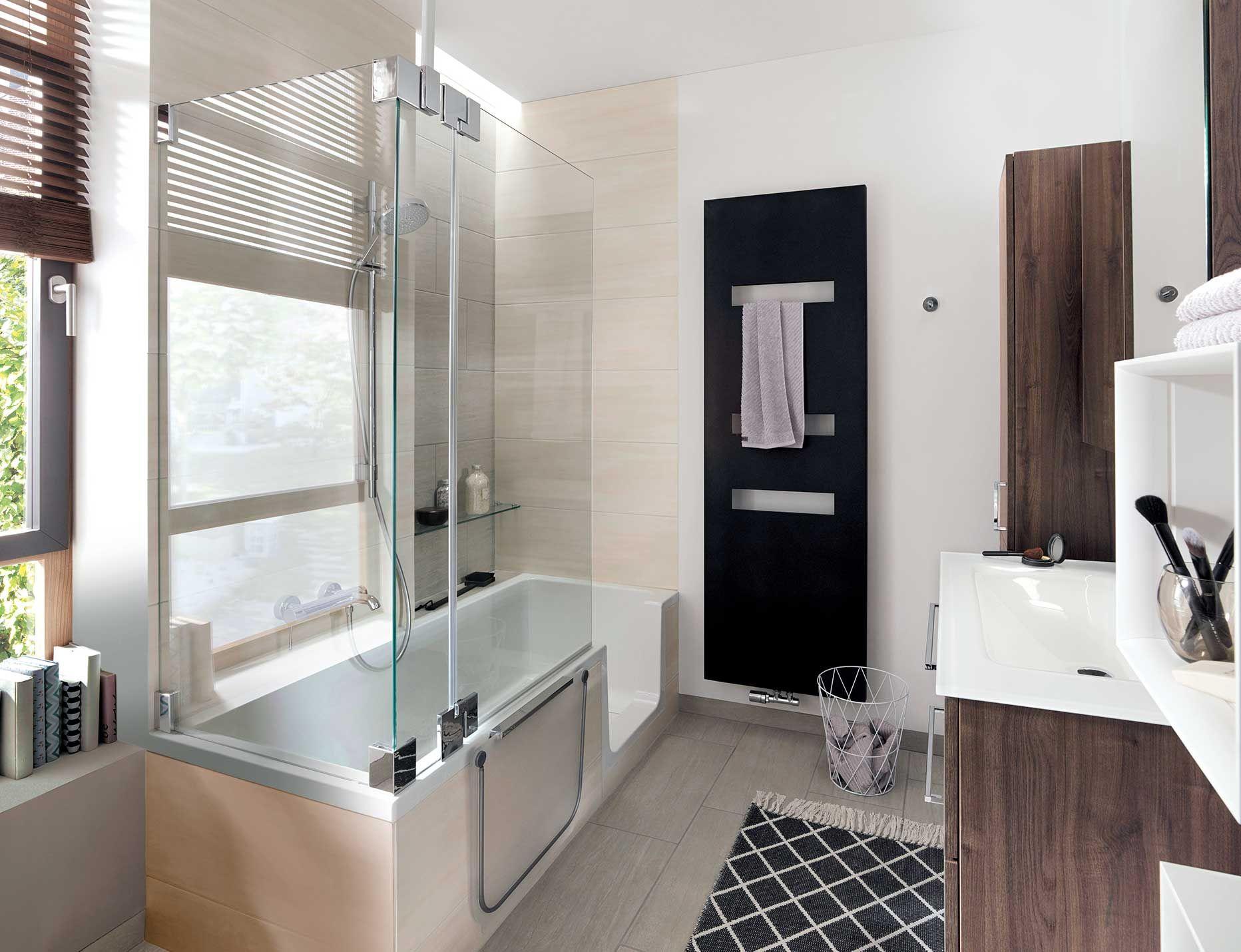 Badezimmer designs klein badezimmer klein mit dusche und wanne  kreative wandgestaltung