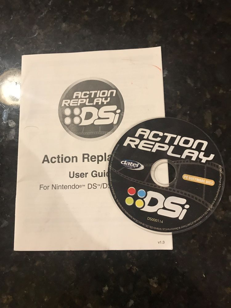 Datel Action Replay for Nintendo DS DSi PC Software Disc