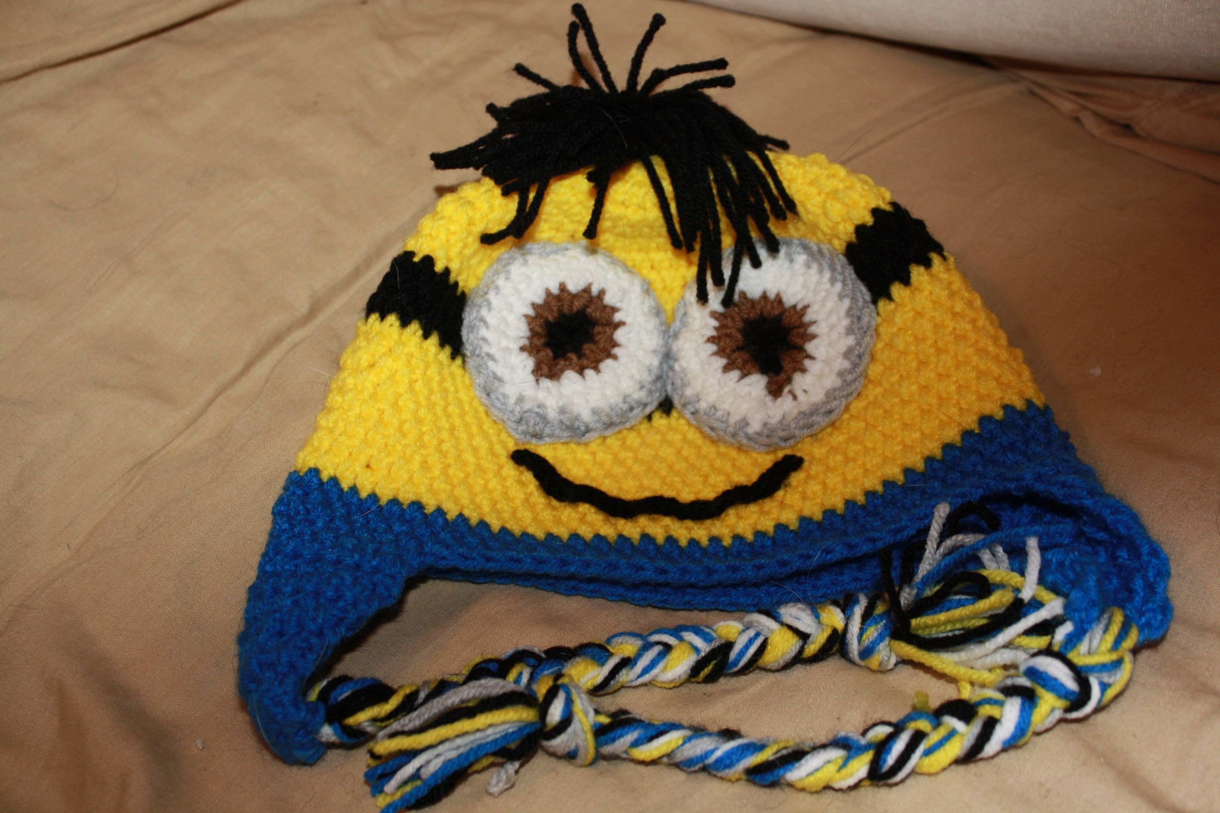 minion hat | Things I\'ve Made | Pinterest