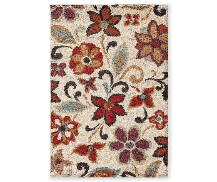 Living Colors Mesa Bluma Rugs At Big Lots Rugs Area Rugs Accent Rugs