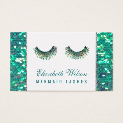 Fairy mermaid lashes makeup artist business card glitter glamour fairy mermaid lashes makeup artist business card glitter glamour brilliance sparkle design idea diy elegant reheart Images