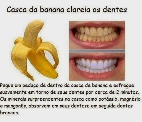 Receita Caseira Para Clarear Os Dentes Nutricao E Saude Astucias