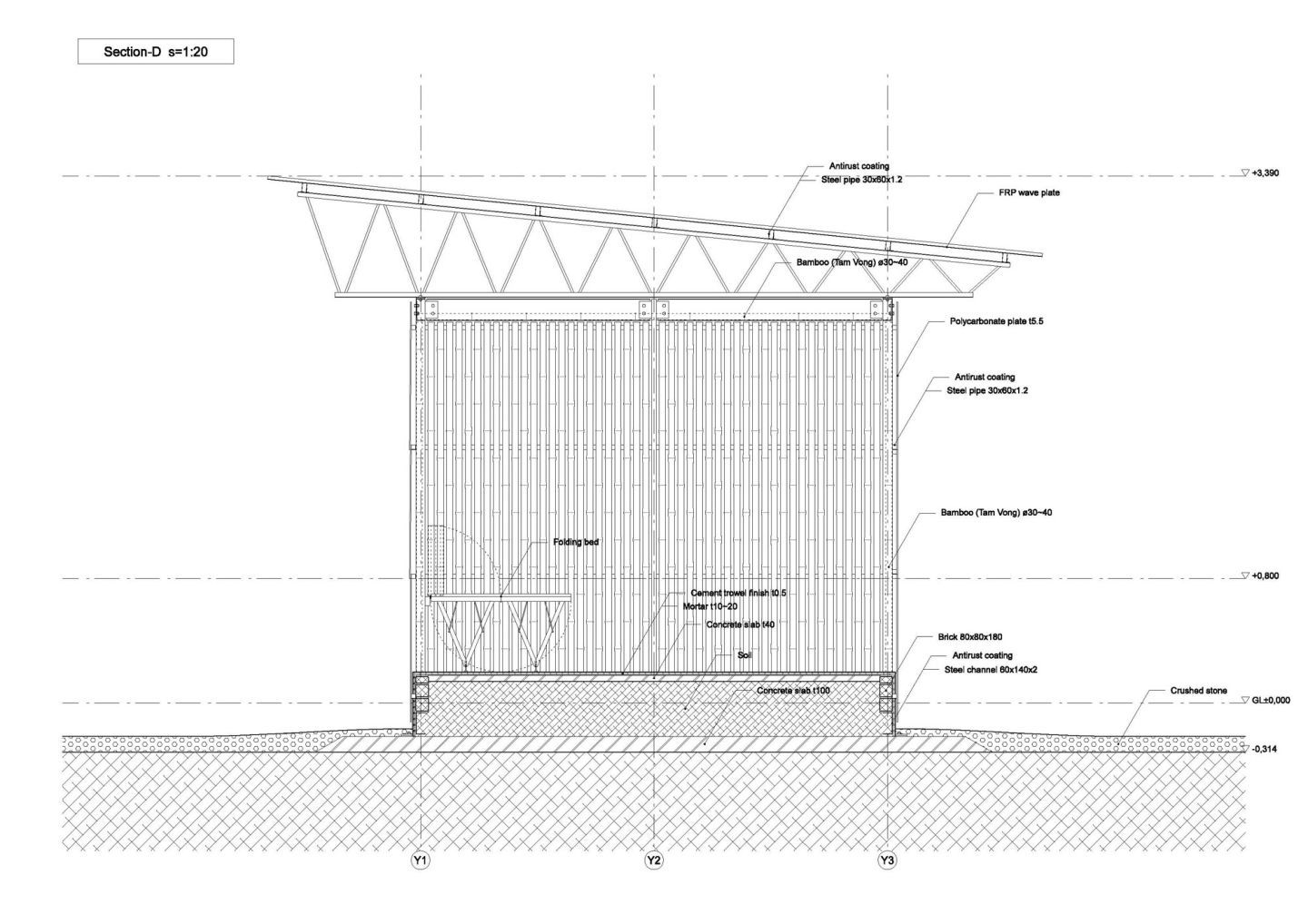 Vo Trong Nghia Architects Low Cost House Divisare Low Cost Housing Architect Affordable Housing