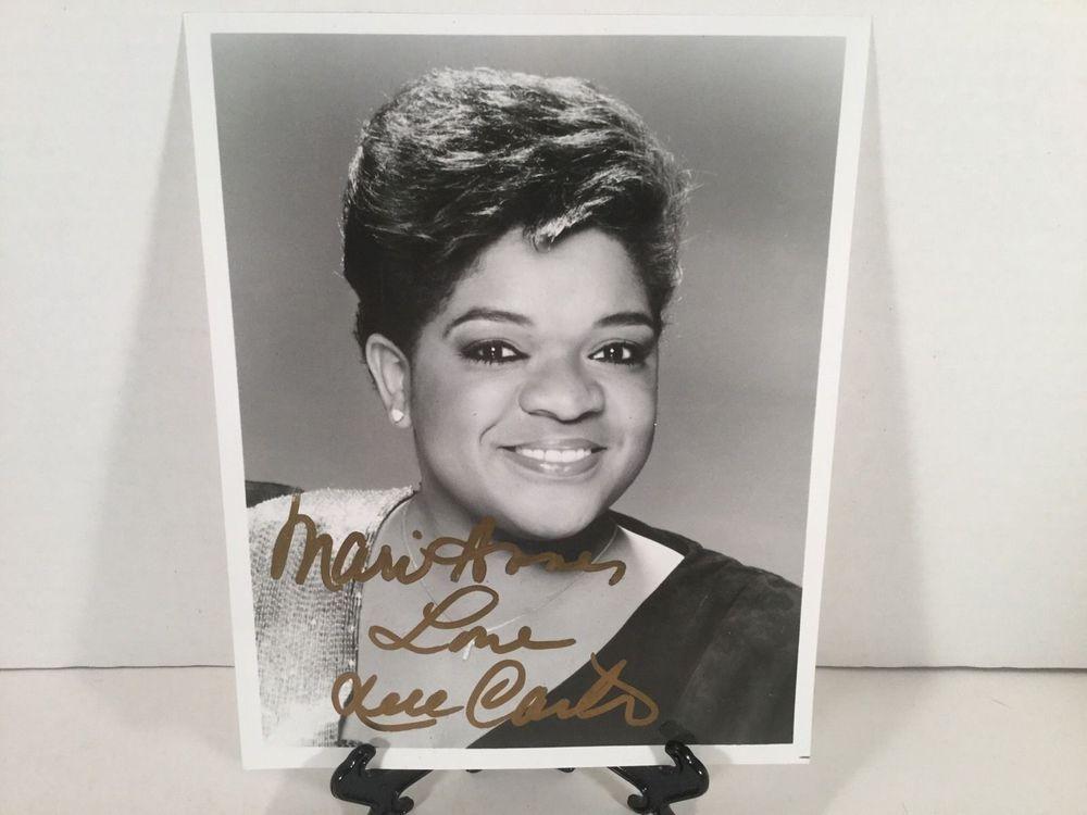 NELL CARTER Signed AUTOGRAPHED Vintage 8x10 Photo TV Gimme A Break in Entertainment Memorabilia, Autographs-Original, Television   eBay