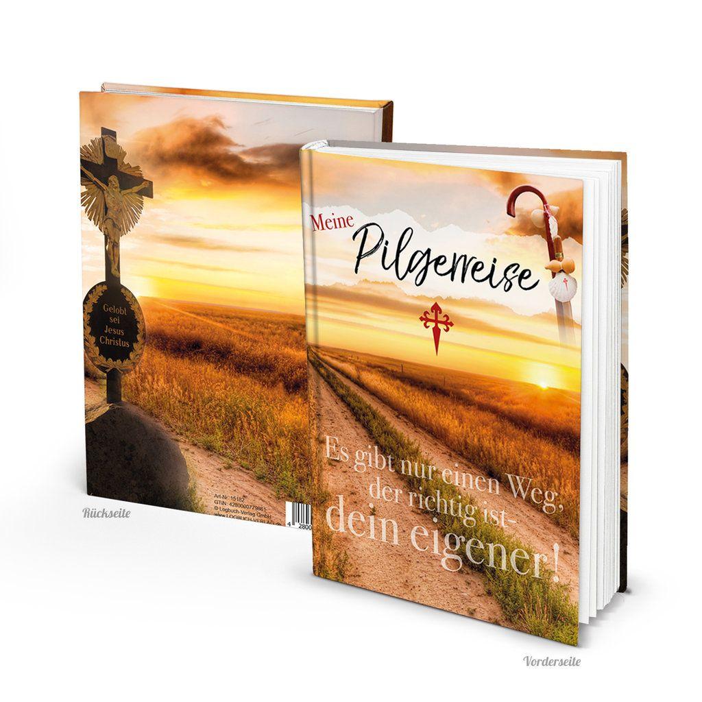 Tagebuch Zum Pilgern Mein Pilgerbuch Selber Schreiben Jakobsweg