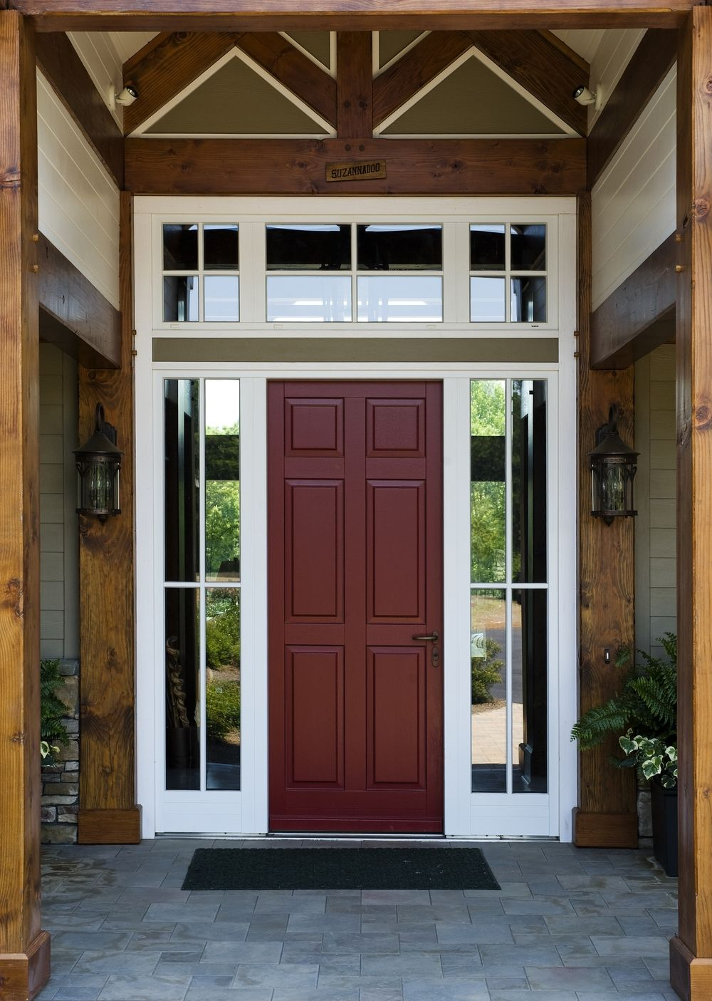 Exterior Front Doors With Sidelights And Transom