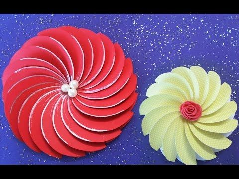 Diy home decoration with paper flowers do it yourself ideas diy diy christmas ornaments how to make diwali x mas home decoration christmas decoration ideas paper craft solutioingenieria Gallery