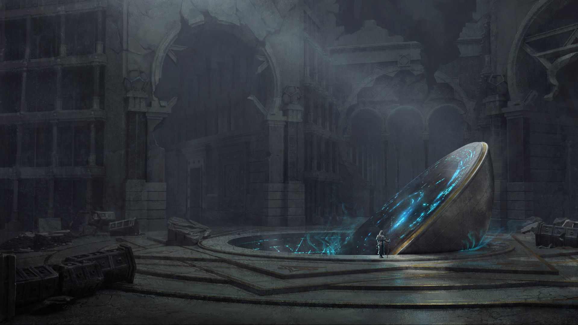 The Celestial Vault, unlocked by the revelations of the Lunatropic Demisphere