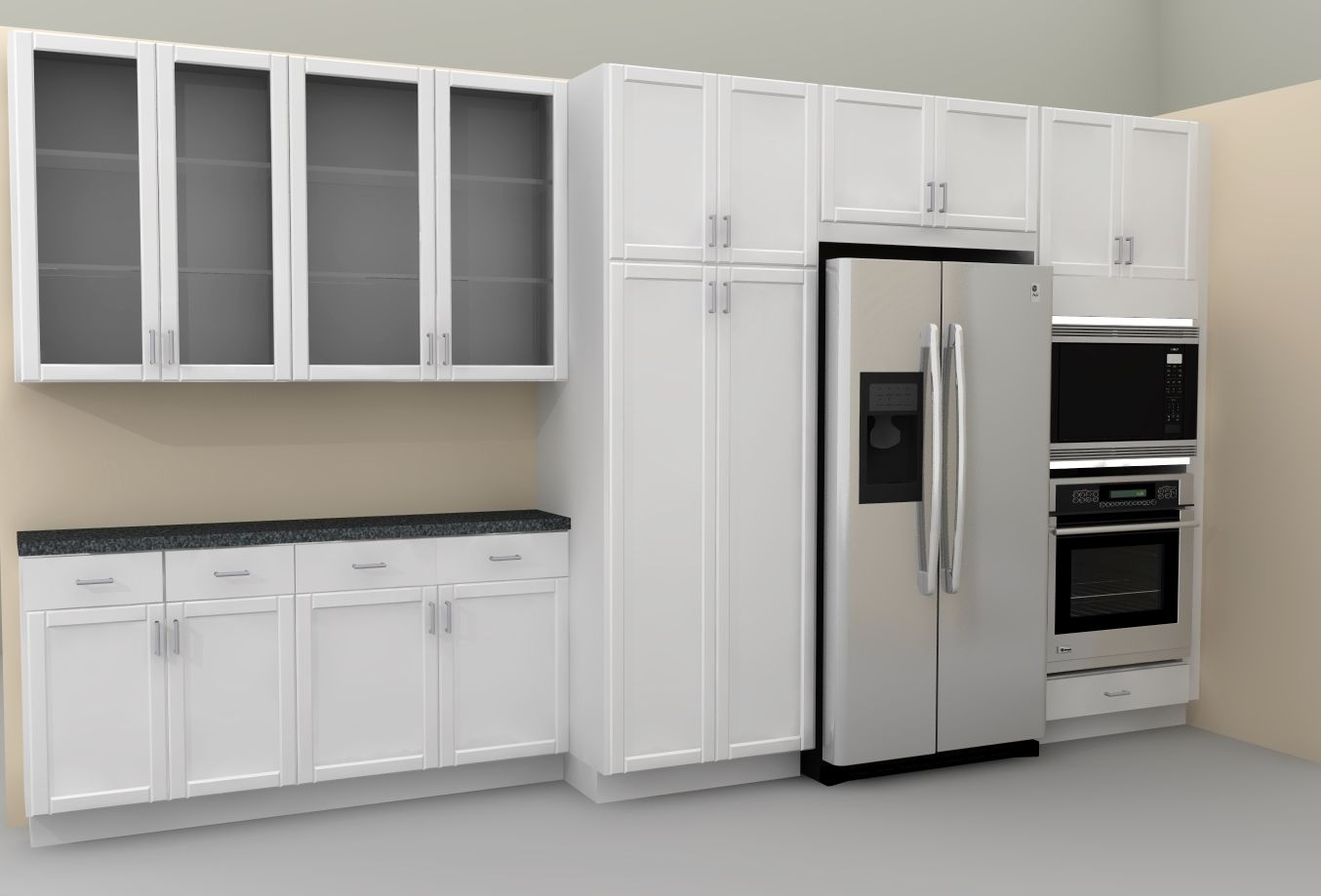 Ikea Kitchen Cabinets With Gl Doors