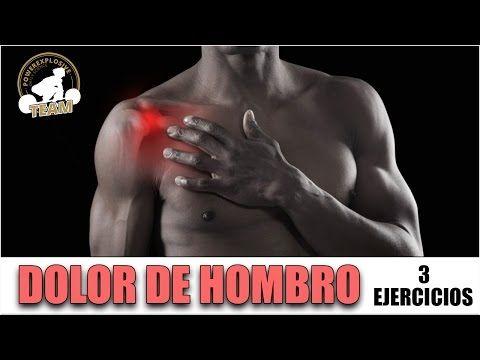 DOLOR DE HOMBRO: 3 EJERCICIOS PARA REMEDIARLO - YouTube..