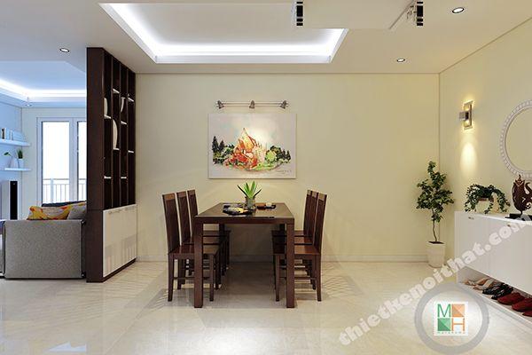 Thiết kế căn hộ 120m2 dành cho người độc thân