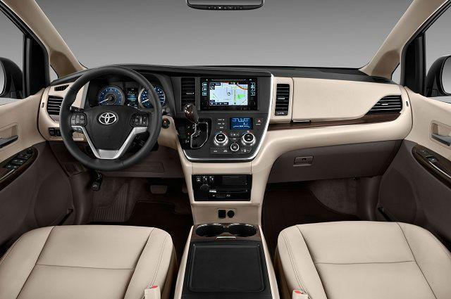 2017 Toyota Sienna Interior Www Mercedtoyota Com Avtomobil