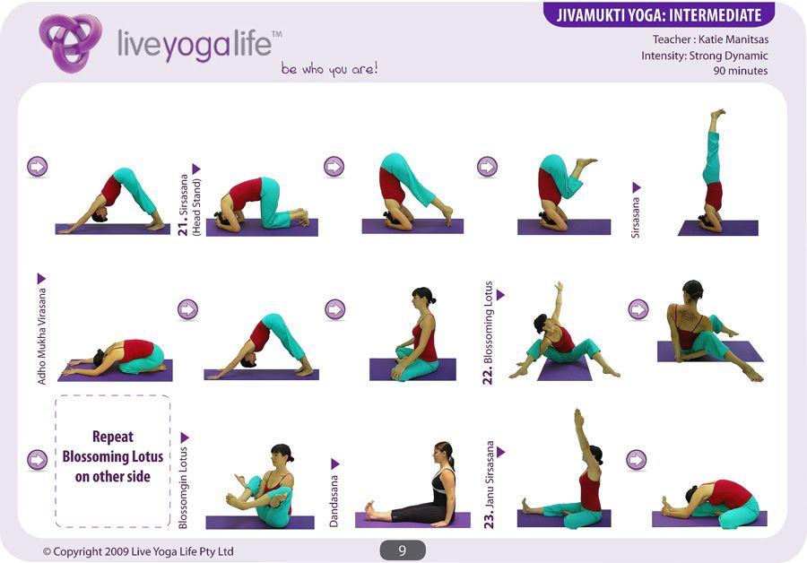 Intermediate Yoga Pose Jivamukti yoga intermediate | Yoga