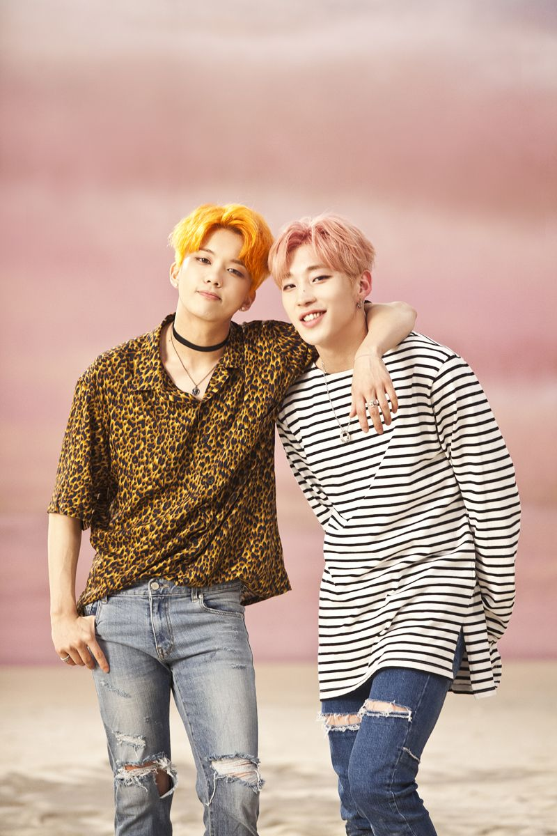Youngjae and jongup