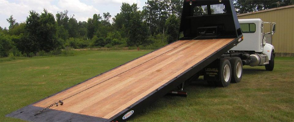 rollback with wood deck | Rollbacks & Truck Beds | Truck bed