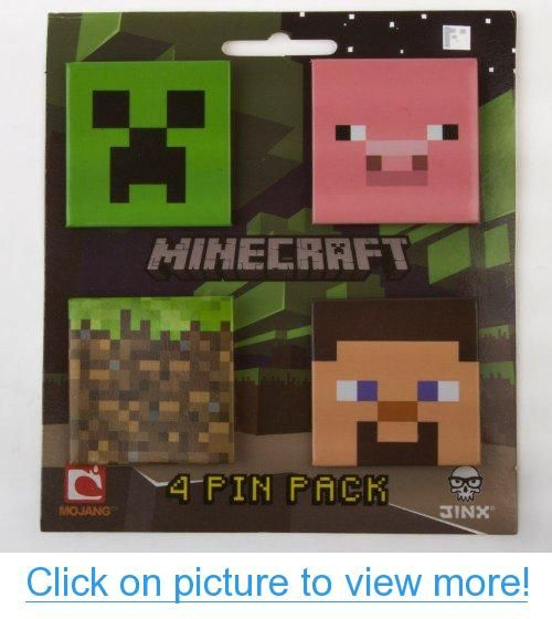 (4x5) Minecraft Pin Pack #4x5 #Minecraft #Pin #Pack