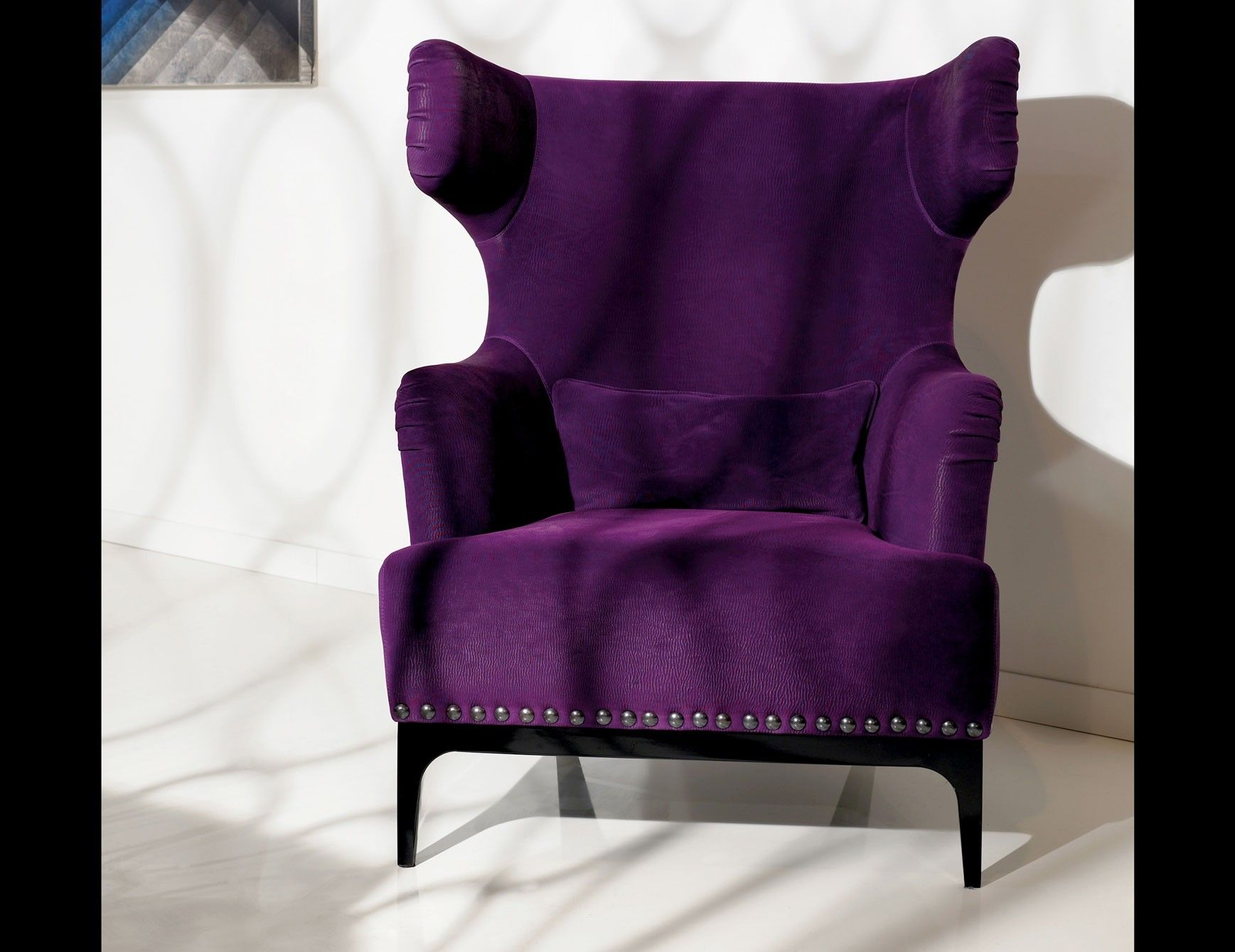 Purple Dining Chairs Dining Room  Purple dining chairs, Purple