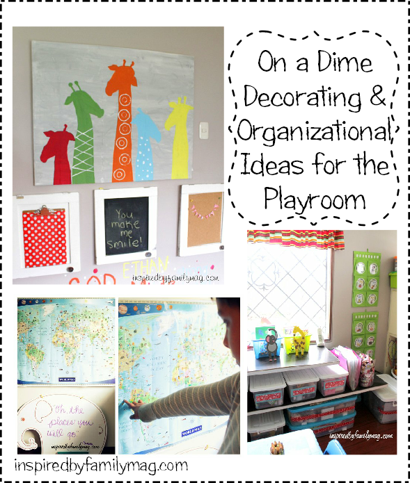 Home Daycare Design Ideas: On A Dime Decorating & Organizational Ideas For Your Small