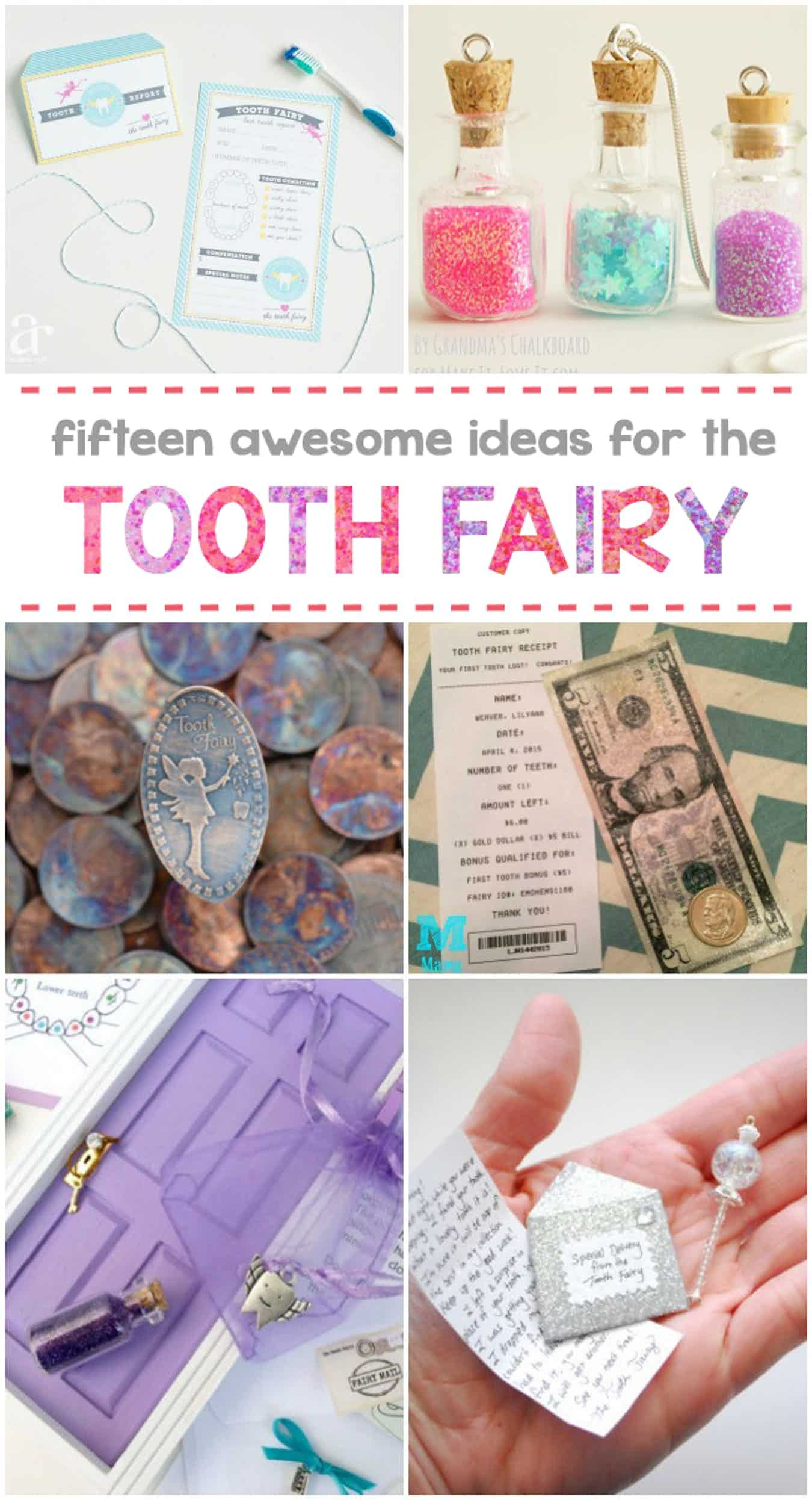 15 awesome tooth fairy ideas - kids activities | tooth fairy