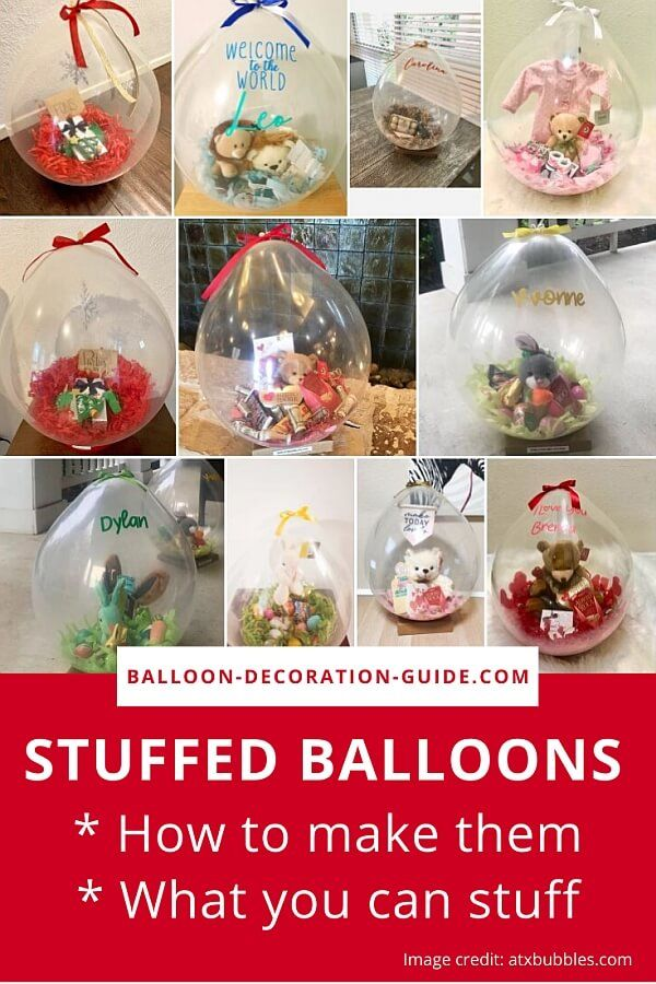 How to Stuff a Balloon | With or Without a Machine