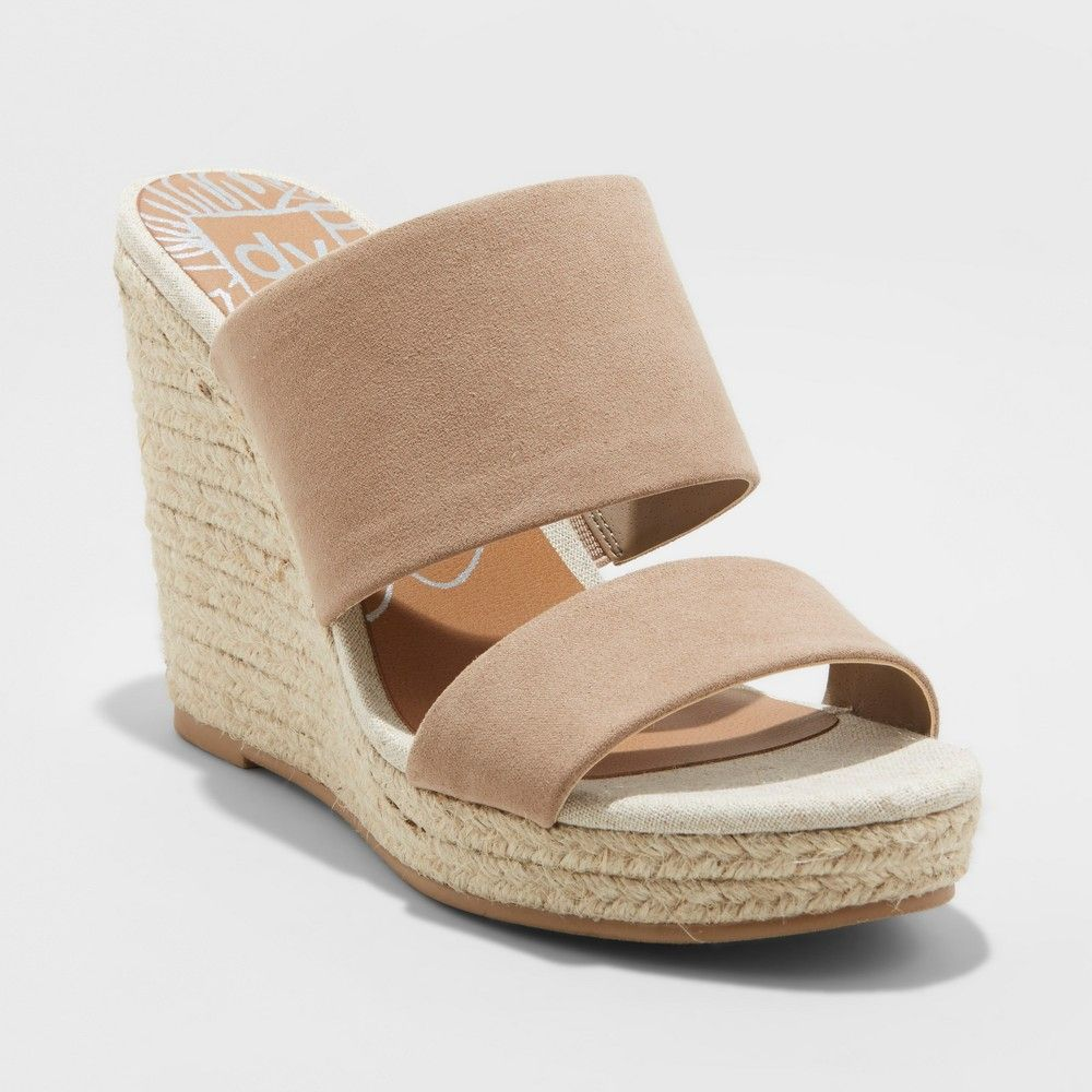 Espadrille sandals, Wedge espadrille