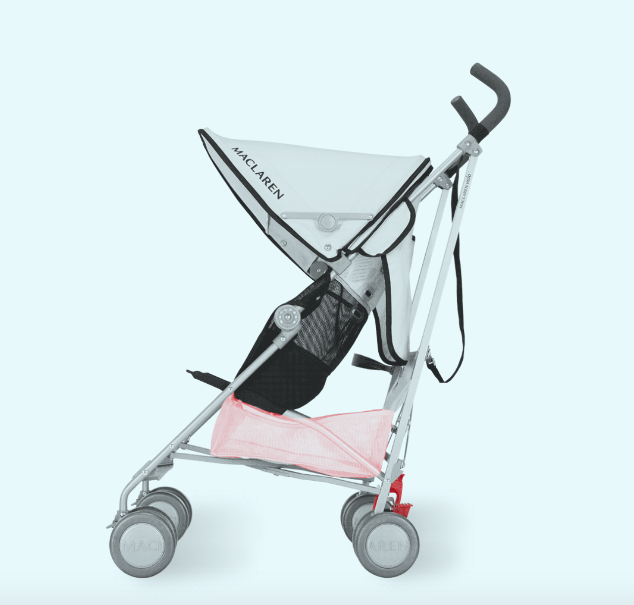 maclaren... a stroller to grow into... Easy to use, folds
