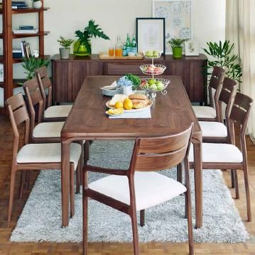 Midcentury Modern Wood Dining Room Set With Extendible Dining Unique Wood Dining Room Chairs 2018