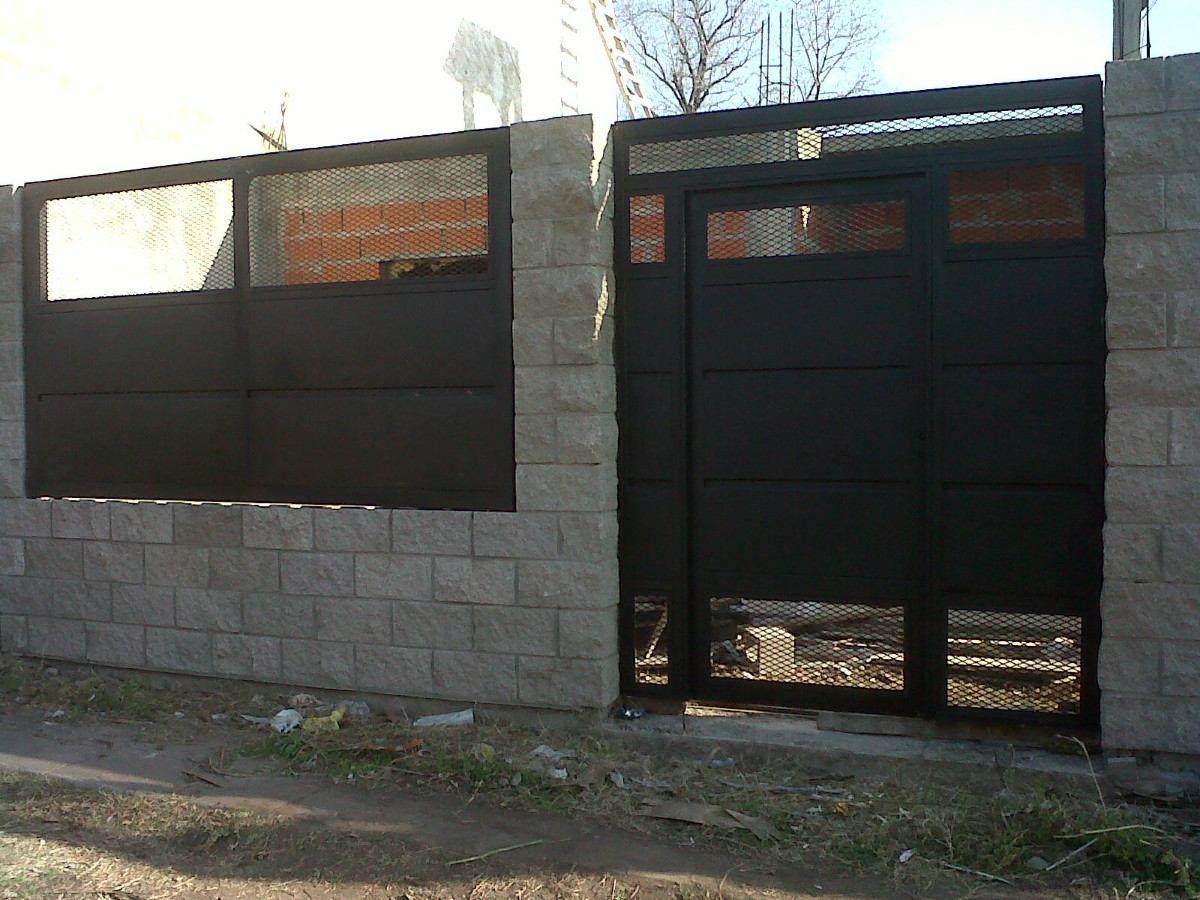 Herreria rejas portones todo con hierro proteccion picina portones puertas puertas de - Proteccion para casas ...