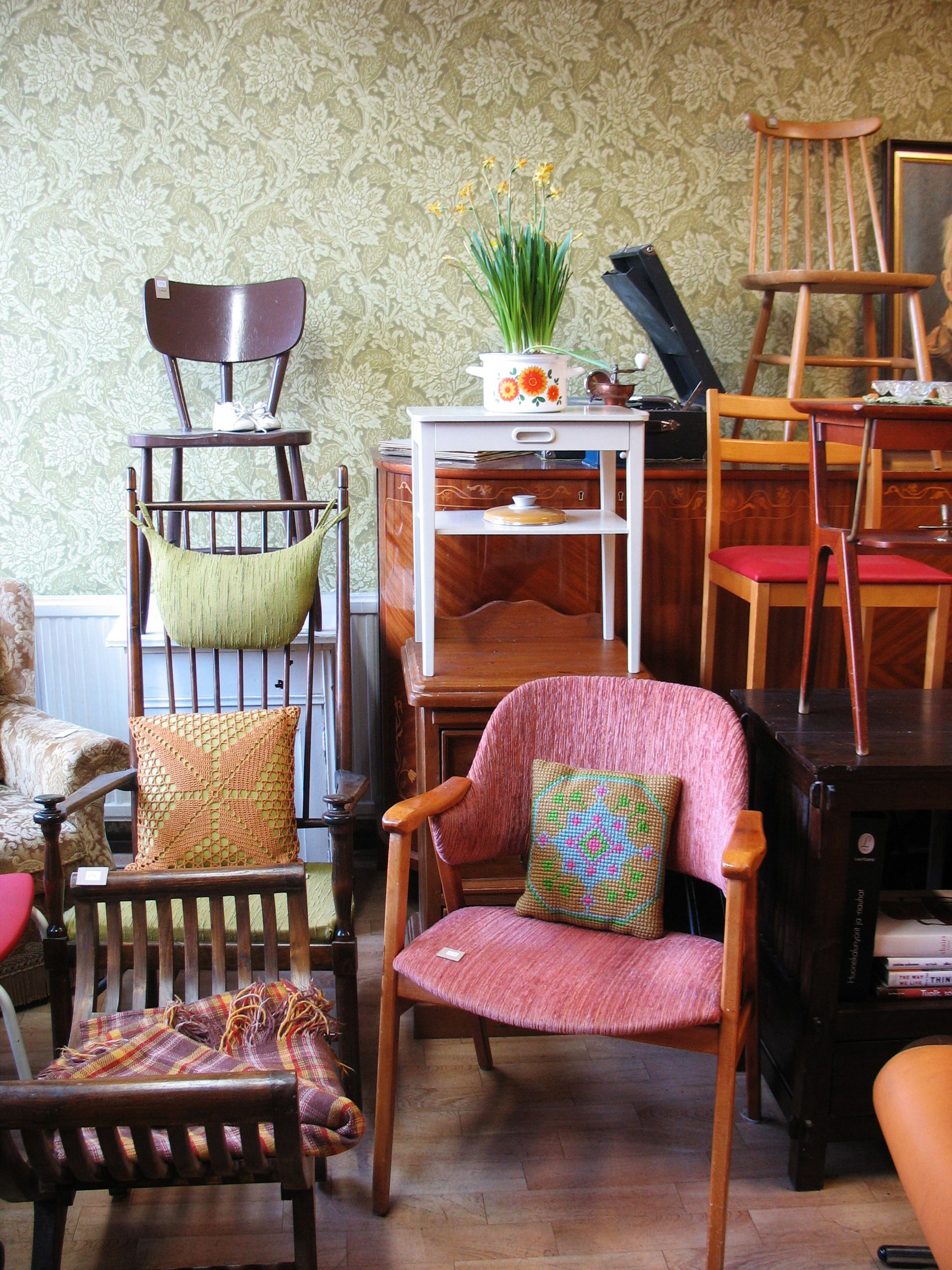Vintage chairs!