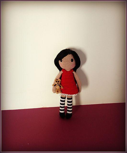 Ravelry: Gorjuss amigurumi pattern by Ana Artedetei   crochet stuff ...